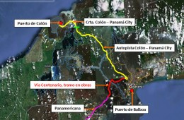 Economic feasibility study of the road stretch between the Port of Colon and Panama City (Panama)