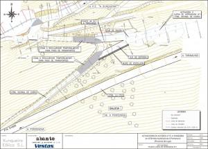 Proyecto de adaptación de acceso carretero en el acceso al Parque A Xunqueira