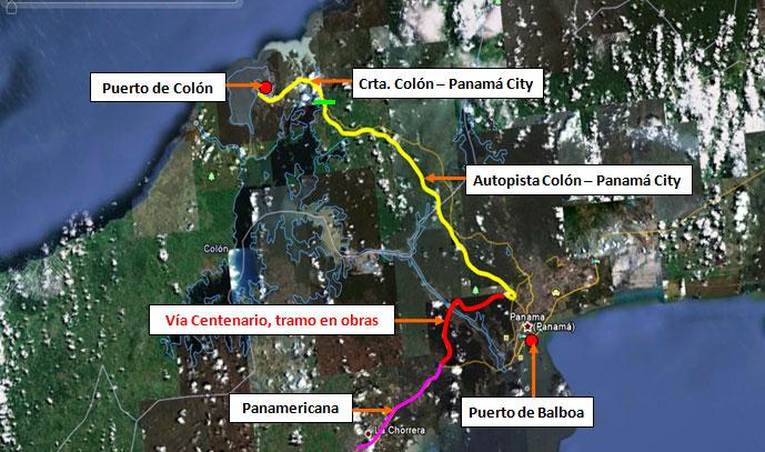 Estudio viabilidad economica tramo carretero Puerto Colon y Panama City